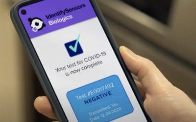 Bloomberg Business – IdentifySensors Biologics Develops Fast, Accurate, Over-the-counter RNA COVID Self-test